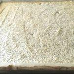 Blat de bezea cu mac și cocos pentru prăjitura Tosca