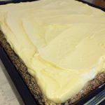 Blat și cremă pentru prăjitura Tosca